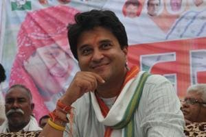 Jyotiradtiya Scindia heads the Congress campaign committee in Madhya Pradesh.