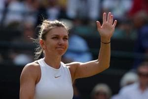 File image of Simona Halep.