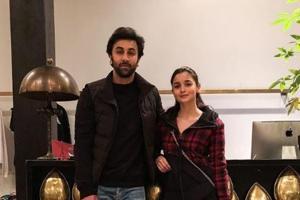Ranbir Kapoor is in New York with his parents Neetu Singh and Rishi Kapoor and girlfriend Alia Bhatt.