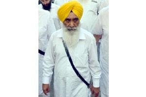 Former Punjab cabinet  minister and SAD leader Sewa Singh Sekhwan in Amritsar on 17 October, 2018.