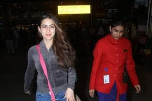 Sara Ali Khan is back in town after filming Simmba.
