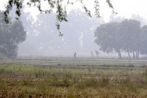 Land for proposed international airport project in Jewar, in Greater Noida (File photo)