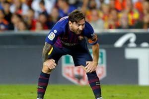 Soccer Football - La Liga Santander - Valencia v FC Barcelona - Mestalla, Valencia, Spain - October 7, 2018 Barcelona