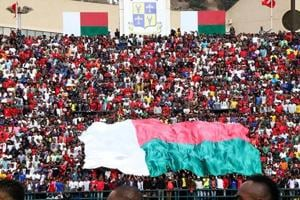 Madagascar qualified for their first ever African Nations Cup finals after beating Equatorial Guinea 1-0 at home