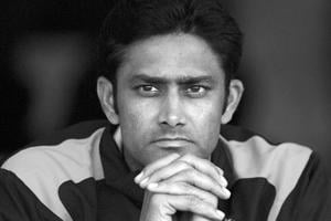 File picture of Anil Kumble