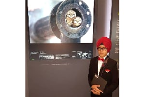 10-year-old boy from Jalandhar wins 'young wildlife photographer of the year' award