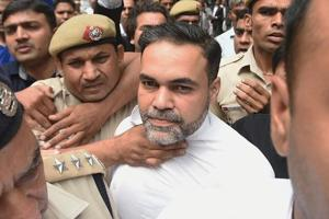 Ashish Pandey leaves Patiala House court after being remanded to one-day police custody in New Delhi.
