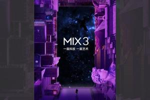 Xiaomi's Mi MIX 3 will launch on October 25 at an event in Beijing.
