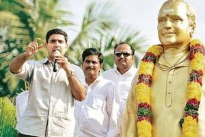 Andhra Pradesh panchayat raj and IT minister Nara Lokesh Babu.