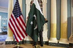 The senior US diplomat's 30-minute speech was conciliatory and encouraging in tone, urging Pakistan to live up to its potential for one.