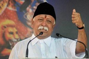 RSS chief Mohan Bhagwat.