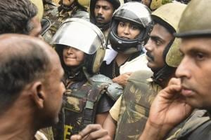 The two women – Kavitha Jakkal and Rehana Fatima – were stopped just 500 metres away from Sabarimala temple