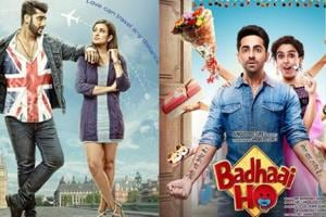 Badhaai Ho dominated the box office on the opening day while Namaste England failed to perform.