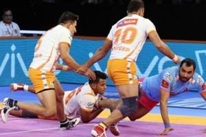 Puneri Paltan are now top of Zone A table with 20 points from six matches.