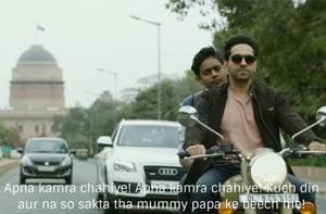 Badhaai Ho has some very interesting dialogues that add to the comic timing of the actors in the film.