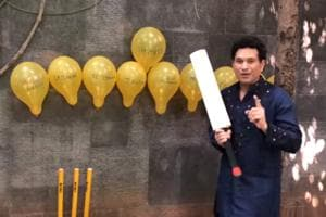 """""""Let's have a positive year guys,"""" says Sachin Tendulkar in the video"""