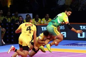 Telugu Titans are now top of the Zone B table with 16 points.