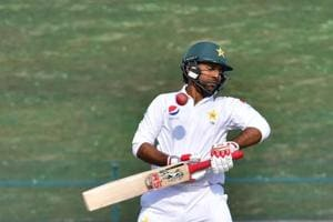 Sarfraz was on 33 in Pakistan's second innings on Wednesday in Abu Dhabi when a Peter Siddle bouncer struck his helmet.
