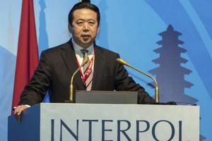 Meng Hongwei, a former Interpol chief and the Chinese vice public security minister, went missing on a trip to China last month.