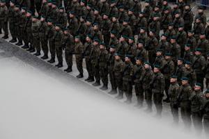Photos: Poland's volunteer militia trains against perceived Russian threats