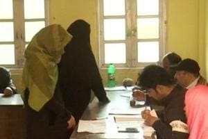 The elections saw abysmal voter turnout with just four per cent of them casting their votes in Kashmir while Ladakh and Jammu regions saw good participation.