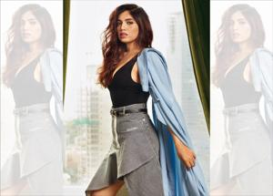 Bhumi Pednekar may be just four films old, but she is being looked at as the new bold face of Bollywood (Styling by Mohit Rai; assisted by Shannon Tanwani and Miloni Shah; make-up by Sonik Sarwate; hair by Florian Hurel, The Artist Factory; location courtesy: The St. Regis Mumbai)