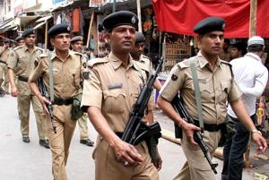 Security forces across Madhya Pradesh were on high alert Saturday following a letter allegedly from the Lashkar-e-Taiba warning of attacks across the state and neighbouring Rajasthan and Gujarat on October 20 and November 9 ( Representative photo)