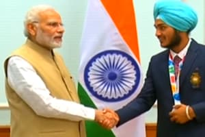 PM Modi felicitates winners of 2018 Summer Youth Olympic Games
