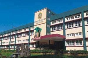 File picture of St. Edmund's School, Shillong