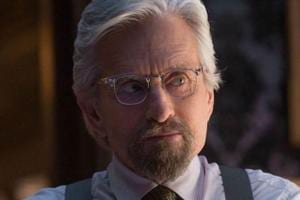 Michael Douglas plays Dr Hank Pym in Ant-Man movies.