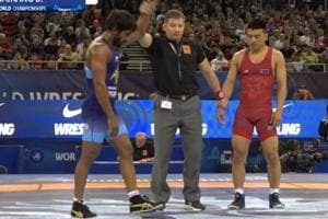 Punia held his nerves and even thwarted a challenge by the Mongolian in the last second