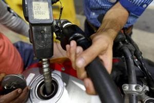 Petrol and diesel prices were cut for the fourth straight day Sunday on softening international oil prices, providing some relief to consumers battered by two months of relentless rate hikes.