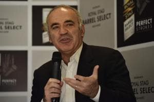Unlike chess not chasing results as a human rights activist: Kasparov