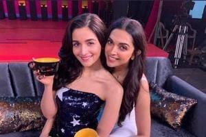 Alia Bhatt and Deepika Padukone graced the first episode of Karan Johar's talk show Koffee With Karan.