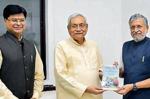 Bihar deputy chief minister Sushil Kumar Modi's 'Lalu Leela' documents the 'benami' land deals allegedly linked to Rashtriya Janata Dal chief Lalu Prasad and his family.