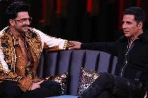 Ranveer Singh and Akshay Kumar will feature in the second episode of Koffee With Karan this weekend.