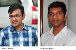 SB Deepak Kumar is posted as the finance secretary, Daman and Diu, while Prince Dhawan is the deputy commissioner of Itanagar in Arunachal Pradesh.