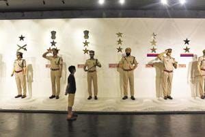 A view of the national police museum on the occasion of the Police Commemoration Day, at Chanakyapuri in New Delhi on October 21, 2018.