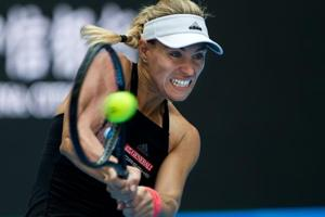 Angelique Kerber is more than 1600 points behind top-ranked Simona Halep.