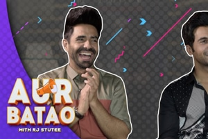 INTERVIEW || RAJKUMMAR RAO, APARSHAKTI KHURANA || STREE ||| AUR BATAO