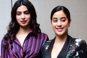 Janhvi Kapoor and Janhvi Kapoor were spotted in Delhi.