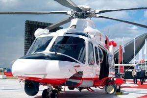 An AgustaWestland helicopter. (HT File Photo)