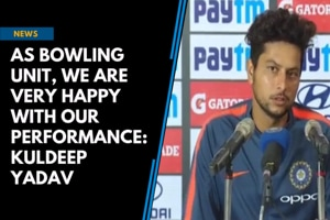 As bowling unit, we are very happy with our performance: Kuldeep Yadav