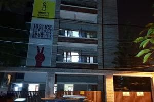 The Amnesty International's offices in Bengaluru are being raided by the Enforcement Directorate.