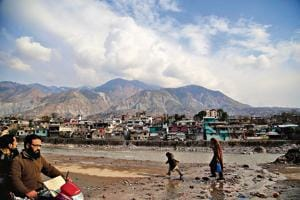 Muzaffarabad, the capital of Pakistan-occupied Kashmir.