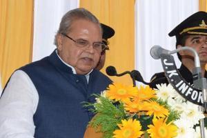 Jammu and Kashmir governor Satya Pal Malik.