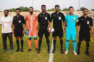 Chennai City FCdefeated Indian Arrows in their I-League encounter.