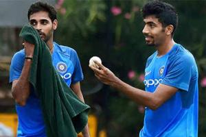 Jasprit Bumrah and Bhuvneshwar Kumar were added in the India squad for the last three ODIs against West Indies.