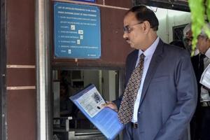 CBI chief Alok Verma arrives at Supreme Court in New Delhi, in July 2018.