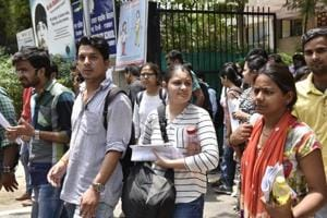 In second meet, at around 4.30 pm, the college manager is alleged to have forwarded question paper to five believed to be paper solver